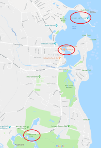 Scituate Photo Shoot Map